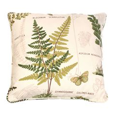 Botanical cushion| Jim Lawrence