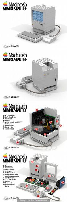 LEGO Apple Macintosh