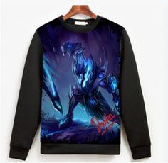 LOL Soul Reaver Draven camisola para homens XXXL