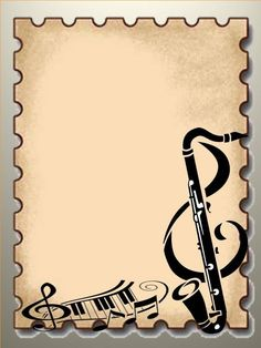 """Képtalálat a következőre: """"musical borders clip art"""" Borders For Paper, Borders And Frames, Music Border, Music Clipart, Page Borders Design, Globe Art, Happy Children's Day, Music Drawings, Music Wall Art"""