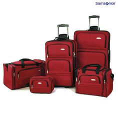 a988c0dcbbff 5-Piece Set  Samsonite Signature Lightweight Luggage Luggage Sets