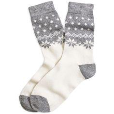 Brooks Brothers Merino Wool Blend Fair Isle Socks (£7.52) ❤ liked on Polyvore featuring intimates, hosiery, socks, accessories, shoes, underwear, grey, fair isle socks, gray socks and grey socks