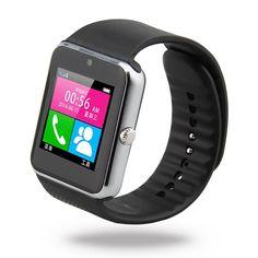 Encontrar Más Smart Watches Información acerca de 1.5 '' 2.0 MP GT08 pantalla táctil NFC Wirst del reloj del teléfono compañero reloj podómetro para 3 G GPS bluetooth de la cámara inteligente teléfono móvil del envío, alta calidad deporte y cortometrajes, China ver escaparate Proveedores, barato gps reloj de ShenZhen TX Technology Co., Ltd. en Aliexpress.com