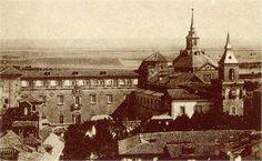 La Magistral de #AlcaladeHenares Old Pictures, Paris Skyline, Madrid, Louvre, Building, Travel, Saints, Temple, Antique Photos