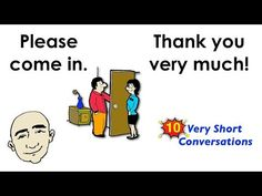 In this video, you will learn 10 short English conversations that will help your English speaking skills. You will also be able to practice speaking on your . English Tips, English Study, English Class, English Lessons, Easy English Conversation, Short Conversation, English Speaking Practice, English Vocabulary, Esl