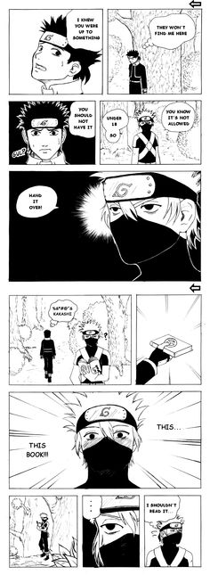 Kakashii and Obito - the Book by P-the-wanderer.deviantart.com