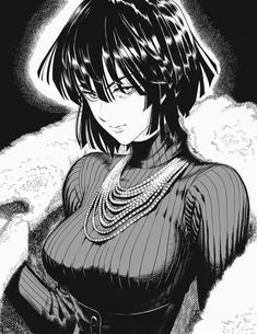 Anime Boy Sketch, Anime Art Girl, Manga Girl, One Punch Man Manga, Opm Manga, Adventure Time Girls, Gothic Anime, Attack On Titan Anime, Cyberpunk Character