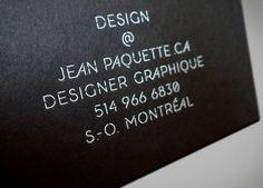 Branding Jean Paquette – Identité complète on Behance Design par JEANPAQUETTE.CA DESIGNER GRAPHIQUE S.-O. MONTRÉAL One For The Money, Design Graphique, Jeans, Designer, Behance, Cards Against Humanity, Branding, Business, Behavior