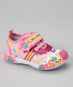 Loving this Pink Bunny Sneaker on #zulily! #zulilyfinds