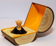 OLD SOVIET LATVIA DZINTARS EDP PERFUME AMBER W. BOX FULL BOTTLE USSR