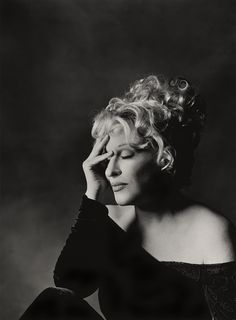 Bette Midler (1945) - American singer-songwriter, actress, comedian, film producer and entrepreneur. Photo by Greg Gorman, 1995