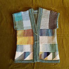 Tunisian Crochet, Experiment, Vest, Colours, Simple, Sweaters, Instagram, Fashion, Moda