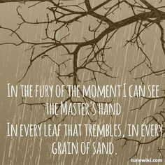 """-- #LyricArt for """"Every Grain Of Sand"""" by Bob Dylan"""