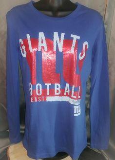 Official Majestic NFC New York Giants Navy Football Long Sleeve Women's Size Med | Sports Mem, Cards & Fan Shop, Fan Apparel & Souvenirs, Football-NFL | eBay!