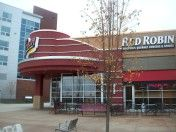 Red Robin @ Patriot's Place, Foxboro. Great burgers made healthier on a bun of lettuce and served with a side of sweet potato fries.