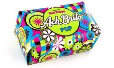Criação de Sabonetes Ach. Brito para a Linha POP - Fragância Red Poppy e Lime Basil