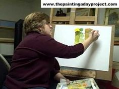 How to Mix Natural Greens for Landscape Painting - YouTube