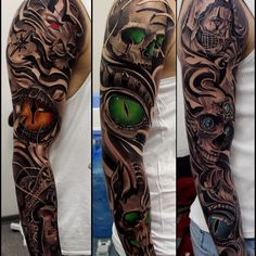 Automatický alternatívny text nie je k dispozícii. Skull Sleeve Tattoos, Tattoo Sleeve Designs, Arm Tattoos, Life Tattoos, Body Art Tattoos, Badass Tattoos, Cool Tattoos, Future Tattoos, Tattoos For Guys