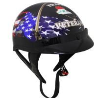 Check out T-70 Iraq War Veteran Half Helmet on LeatherUp.com!
