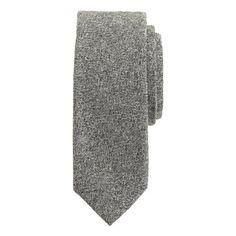 J.Crew - Irish bird's-eye wool tie