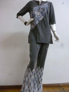 Túnica e Pantalona  (malha algodão)