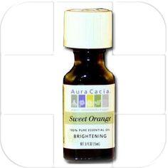 Aura Cacia Sweet Orange Essential Oil Adhesive Remover - Starting @ $4.50  Find it on www.doctoredlocks.com