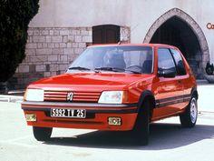 mesmomeugenero: Peugeot 205 GTI Classic Motors, Classic Cars, R5 Gt Turbo, 309 Gti, Peugeot 208 Gti, Vmax, Volkswagen, Camping Car, Muscle Cars