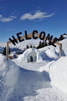 Wer schon lange auf seine erste Nacht draussen in Schnee und Eis gewartet hat: Die Iglu-Dörfer starten in die Wintersaison. Zermatt, Mount Everest, First Night, Unique Hotels, Snow Ice Cream, Zugspitze, Icecream Craft, Switzerland