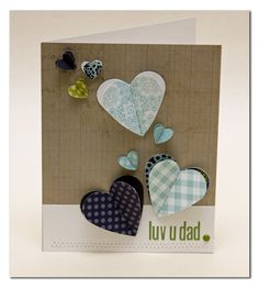 Fabulous Father's Day Cards by Summer - Lily Bee Design  #lilybee #lilybeedesign