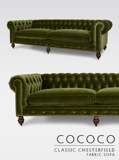187 Best Cococo Home Chesterfield Images In 2019 Tufted Sofa