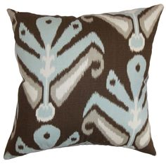Redesign your interiors with this plush decor pillow. This accent pillow is a perfect blend of style and comfort. Place this square pillow anywhere inside your home for a relaxing atmosphere.