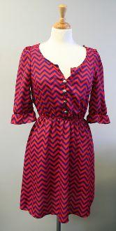 Chevron Dress - $40.00