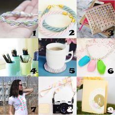Link Love: Think Spring with Pastel Crafts