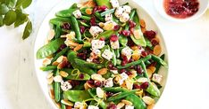 Combine the benefits of dried cranberries, greens and fetta for this delicious dinner side dish by Throw in some almonds for some extra crunch. Remember to check the when comparing similar packaged ingredients. Dinner Side Dishes, Dinner Sides, Dried Cranberries Benefits, Vegetarian Recipes, Healthy Recipes, Savoury Recipes, Healthy Lunches, Healthy Food, Green Beans With Almonds