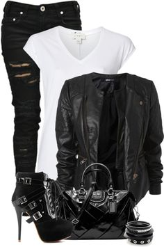 Rock Concert Anyone? Rock n Roll looks. Punk fashion. Get more amazing styles like this at RockStarThreadz.com