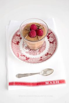Chocolate Mousse by Christina Greve