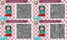 ACNL QR CODE-Power puff | ACNL Face Cutout Standees ... Acnl Qr Codes Happy Home Designer Html on
