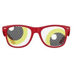 Halloween Glasses: Cockeyed Monster Eyeballs