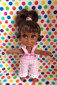 Liddle Kiddle Rolly Twiddle Black African American RARE Beautiful | eBay