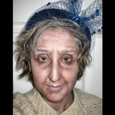 Makeup and Skin with Old Age Makeup with Old Age makeup | Theater | Pinterest