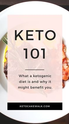 Curious about a keto diet but need more information? Check out this post to find out how it works and why it might help you. #keto #diet #basics #starting #101