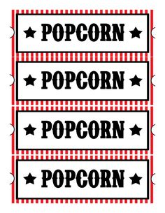 Sweet Daisy Designs: Free Printables: Home Movie Theatre Night festa de cine Movie Night Party, Family Movie Night, Family Movies, Movie Night Basket, Movie Gift, Game Night, Deco Theme Cinema, Cinema Party, Backyard Movie Nights