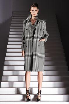 #ESCADA Fall/Winter 2012 #Coats  #Trend Black & White