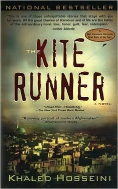 The Kite Runner.  Great book.  Especially interesting to read while in Afghanistan and be able to make culture comparisons and connections.
