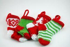 Mini Stocking Ornaments 03