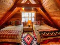 Warm and Cozy Rustic Bedroom Decorating Ideas Decoration # A Frame House Plans, A Frame Cabin, Loft Room, Bedroom Loft, Tyni House, Bedroom Frames, Cabin Loft, Small Loft, Upstairs Bedroom