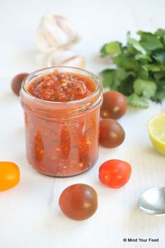 Tapenade, Love Food, A Food, Food And Drink, Bruschetta Recept, Cooking Jam, Pesto Dip, Homemade Sauce, What To Cook