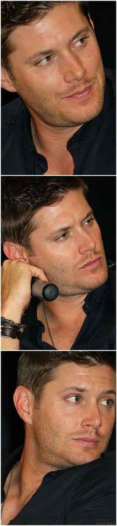 Jensen Ackles - VanCon  2011 - his lips they glisten!