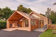 Очаровательный проект детской школы-сада им. Святой Марии (St Mary's Infant School) в Великобритании
