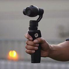 DJI Osmo Handheld 4K Camera #4K, #Camera, #Handle